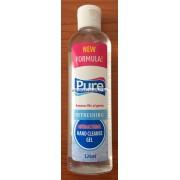 Pure kézfertőtlenítő gél antibakteriális hatással 125ml