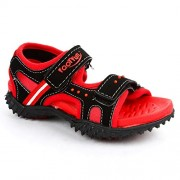 Footfun (from Liberty) Boys Habana Red Floaters and Sandals - 12 kids UK/India (31 EU)