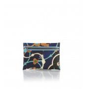 Gabs Pochette con Zip Studio Giallo e Blu