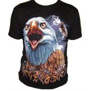T-shirt z nadrukiem ORZEŁ, INDIANIE