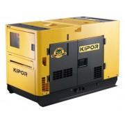 Generator de curent KIPOR KDE 13 SS3, 10.6 kVA, 1642 cmc, diesel, ultrasilent