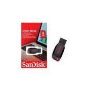 Pen Drive Sandisk Cruzer Blade Preto Sdcz50 08gb