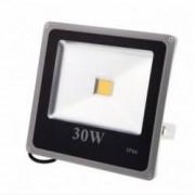 Proiector LED SMD 30W economic slim 6500K lumina rece pentru interior si exterior