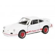 Porsche Speelgoed Porsche1973 Carrera RS zwart Welly autootje 11,5 cm