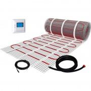 Plieger elektrische vloerverwarmingsmat 50x500cm/2,5m² 375W