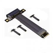 WANGE Pcie x4 3.0 a M.2 NVMe M Key 2280 Tarjeta de extensión 32 G/BPS, R42SL, 15 cm