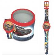 Orologio disney 561238 bamnino cars - tin box