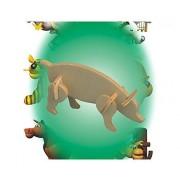 Puzzled - Mini 3D Puzzles - PIG (8 Pieces)