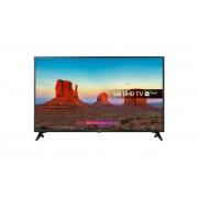 "LG 43UK6200PLA LED TV 43"" Ultra HD, WebOS 4.0 SMART, T2, Black, Two pole stand"