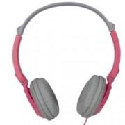 Слушалки TDK ST100, стерео, плътен звук, розово