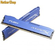 Kingston 8GB DDR3 1866MHz (HX318C10FK2/8) Kit 2x4GB HyperX Fury Blue CL10 Memória (3 év garancia)