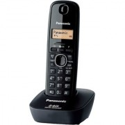 Panasonic Original KX-TG3411SXH Cordless Landline Phone (Black)