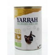 Yarrah Kat pate met kip 400g