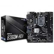 ASRock B360M-HDV Intel B360 LGA 1151 (Socket H4) Micro ATX