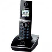 Безжичен DECT телефон Panasonic KX-TG8051, Черен, 1015089
