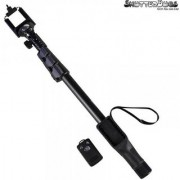 ShutterBugs SB-1288 Bluetooth Enabled Monopod Selfie Stick (Black)