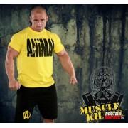Animal T-Shirt Yellow Extra Size