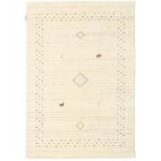 Handgeknüpft. Ursprung: India 120X180 Loribaf Loom Alfa - Natural Teppich Moderner Beige (Wolle, Indien)