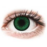 SofLens Natural Colors Emerald Emerald - plano (2 lenses)