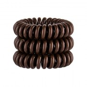 Invisibobble Power Hair Ring elastico per capelli 3 pz tonalità Pretzel Brown