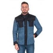 Giorgio Di Mare Winter Coat Sweater Blue GI2031519