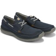 Clarks Marus Edge Casuals For Men(Blue)