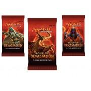 3 (Three) Packs - Magic: the Gathering - MTG: Hour of Devastation Booster Packs (3 Pack Lot)