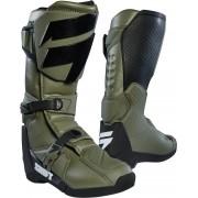 Shift WHIT3 Motokrosové boty 45 Zelená