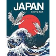Japan Coloring Book: Japanese Designs Adult Coloring Book Relaxing and Inspiration (Japanese Coloring Book), Paperback/Russ Focus