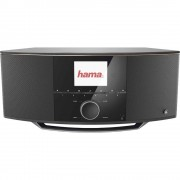 Internet Stolni radio Hama IR150MBT AUX, USB, Bluetooth, WLAN Podržava DLNA, Multiroom mogućnost , Spotify Crna