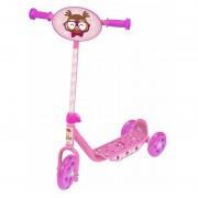 Patinete Infantil Groovy 3 Rodas Bel Brink - Rosa