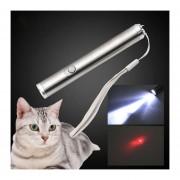 Laser Barras De Luz LED Se Burlan De Gato Gato Divertido Interactivo Láser Pluma Juguetes