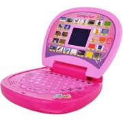 Amazia Educational Laptop for Kids with LED Screen (Multicolour)
