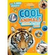 Cool Animals Sticker Activity Book [With Sticker(s)], Paperback