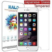 Halo Japanese Oleophobic Tempered Glass Screen Protector for iPhone 6 - 4.7 . Hardness 9H with Rounded Edges - (0.3mm) T