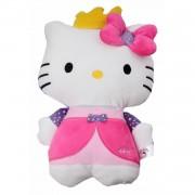 Jemini hello kitty knuffel doll pluche roze 14 cm