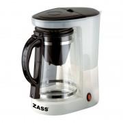 Cafetiera ceainic Zass, 680W, 1L, capacitate 8 cesti