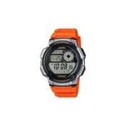 Relógio Masculino Digital Casio Ae-1000W-4bvdf Laranja