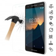 Protetor Ecrã em Vidro Temperado para Nokia 2.1 - 9H - Transparente