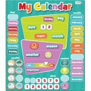Fiesta Crafts My Calendar Magnetic Activty Chart - Blue with Seasons