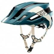 FOX Racing - Flux MIPS Helmet Conduit - Casque de cyclisme taille S/M, noir/turquoise/blanc/gris