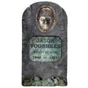 Rubie's Friday The 13th Jason Voorhees 3' Life Size Tombstone Party Outdoor Lawn Decoration