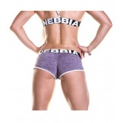 Fitness šortky 266 fialové - NEBBIA