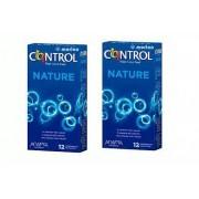 CONTROL Preservativos Adapta Nature 12 Unidades + 3 de Regalo Pack 2x1