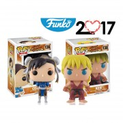 2 Pack ken chun li Funko pop street fighter games 14 febrero