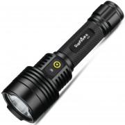 Supfire D12 Jingrui XK LED 7W 700 LM USB Carga Resistente Al Agua Fuerte Linterna LED Con Fuerte / Medio / Bajo / Strobe / Sos Modos