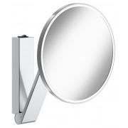Keuco Kosmetikspiegel iLook_move rund 17612 beleuchtet, Wippschalter, verchromt, 17612019004 17612019004