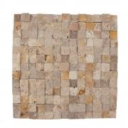 Mozaic Travertin Mix (Noce/Classic/Yellow) Scapitat 2.3 x 2.3 cm