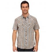 Ecoths Weston Short Sleeve Shirt Silver Blue