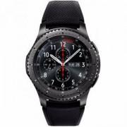 Смарт часовник Samsung GALAXY Gear S3 Frontier, Черен, SM-R760NDAADBT